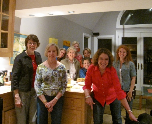 Bunko gals on Sept. 28, 2010
